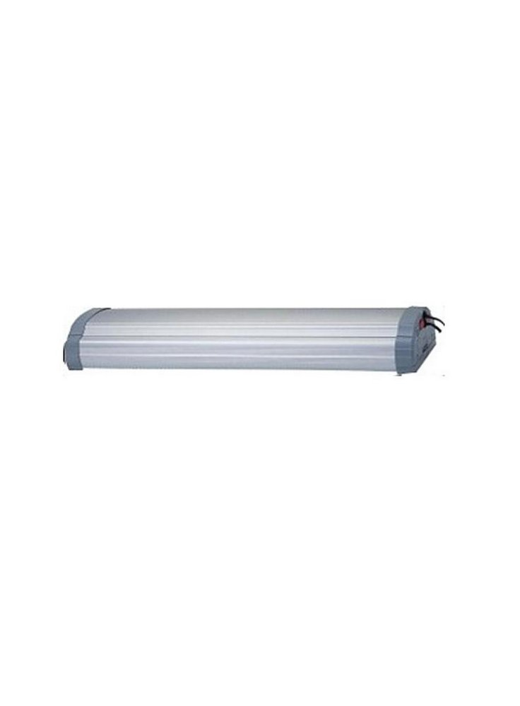 Plafoniera jalli A15 120cm 2pl x 55w 10.000k lampade incluse