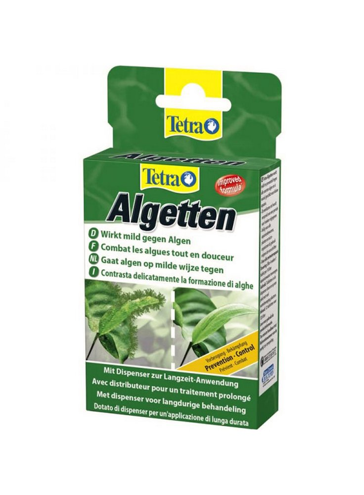 Tetra Algetten prevenzione e controllo delle alghe