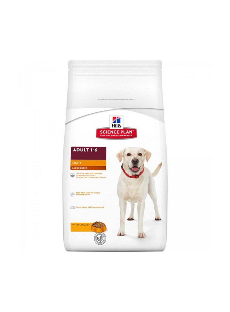 Hill's canine adult light large pollo kg 3 e 12
