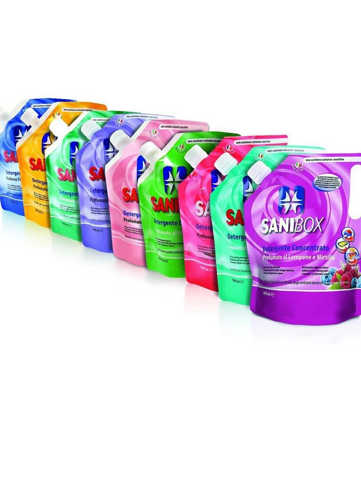 Sanibox detergente concentrato per cani e gatti