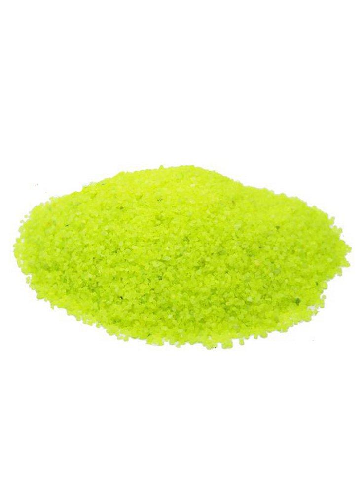 Quarzo ceramizzato giallo fluo 2kg haquoss