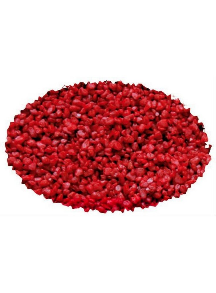 Quarzo rosso 2-3 mm 2 kg