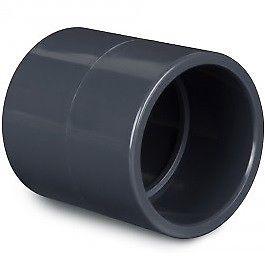 raccordo manicotto pvc rigido diametro 50mm
