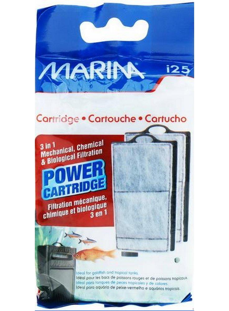 Ricambio cartucce per filtro interno marina goldfish