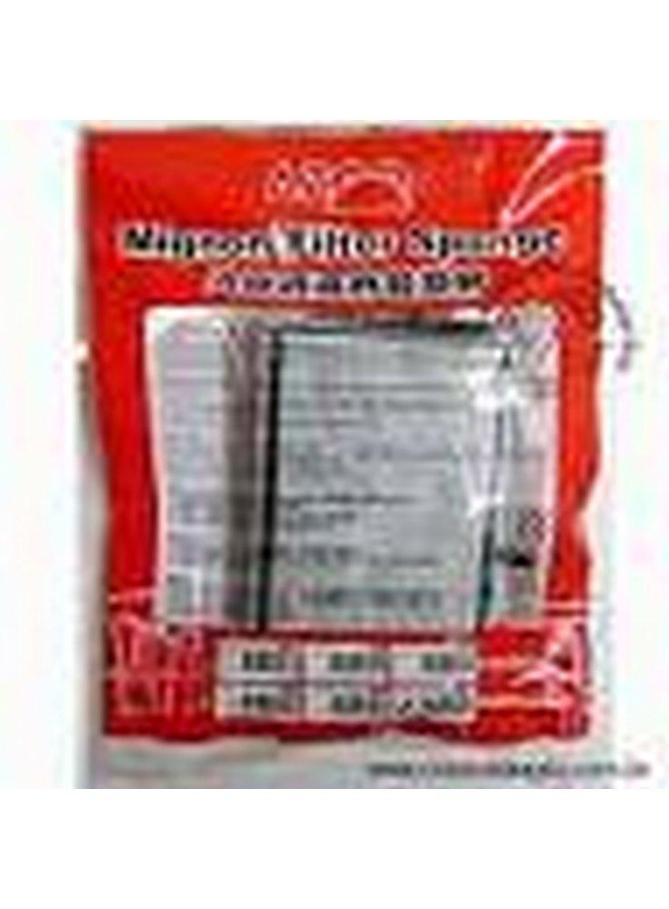 Ricambio spugna + carbone in cartuccia per filtro Azoo