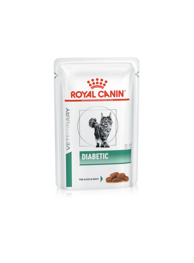 Diabetic buste umido gatto Royal Canin 12x85g