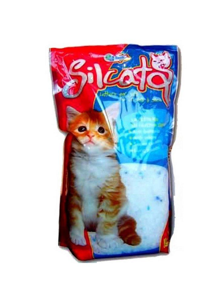Sabbia per gatti a cristalli di silicio kg 1,82 lt 4