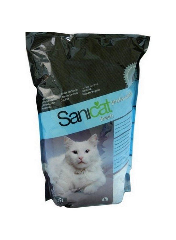Good Sanicat Sabbia Silicio Professional Fresh. Lettiera Per Gatto ...