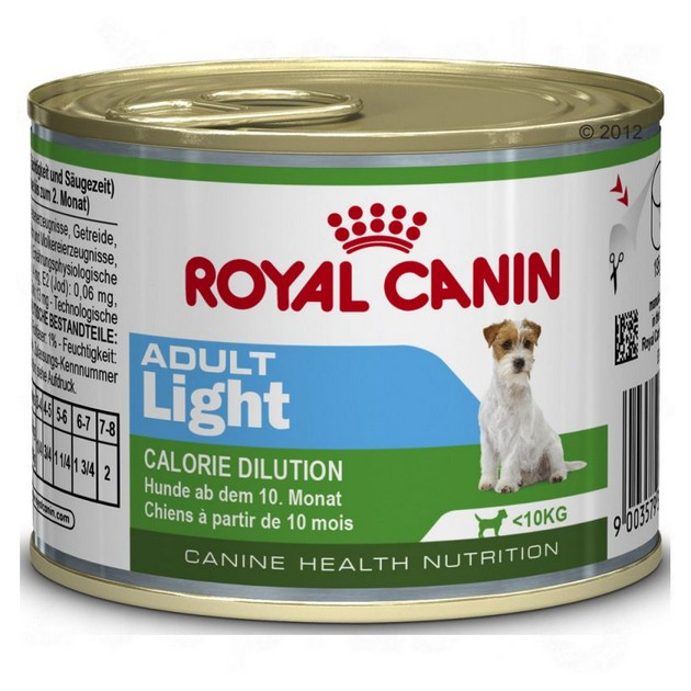 Mini Adult Light cane Royal Canin 195 gr