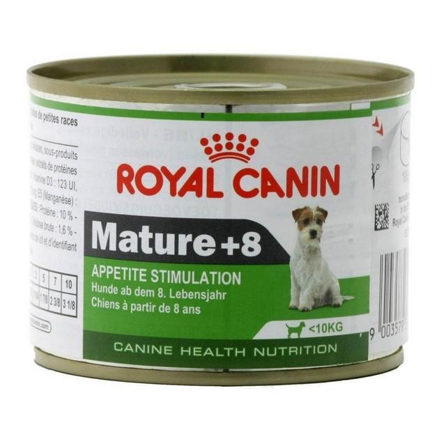 Mini Mature 8+ cane Royal Canin 195 gr