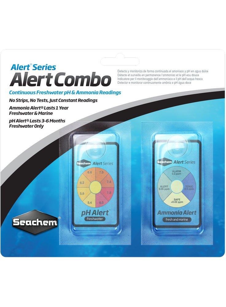 Seachem Alert combo Pack per pH e ammoniaca in acquario