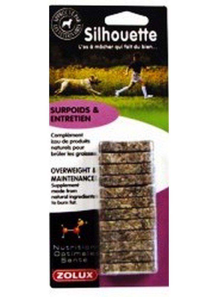 Osso per cani MINI N.O.S. Silhuette X 12 -integratore alimentare