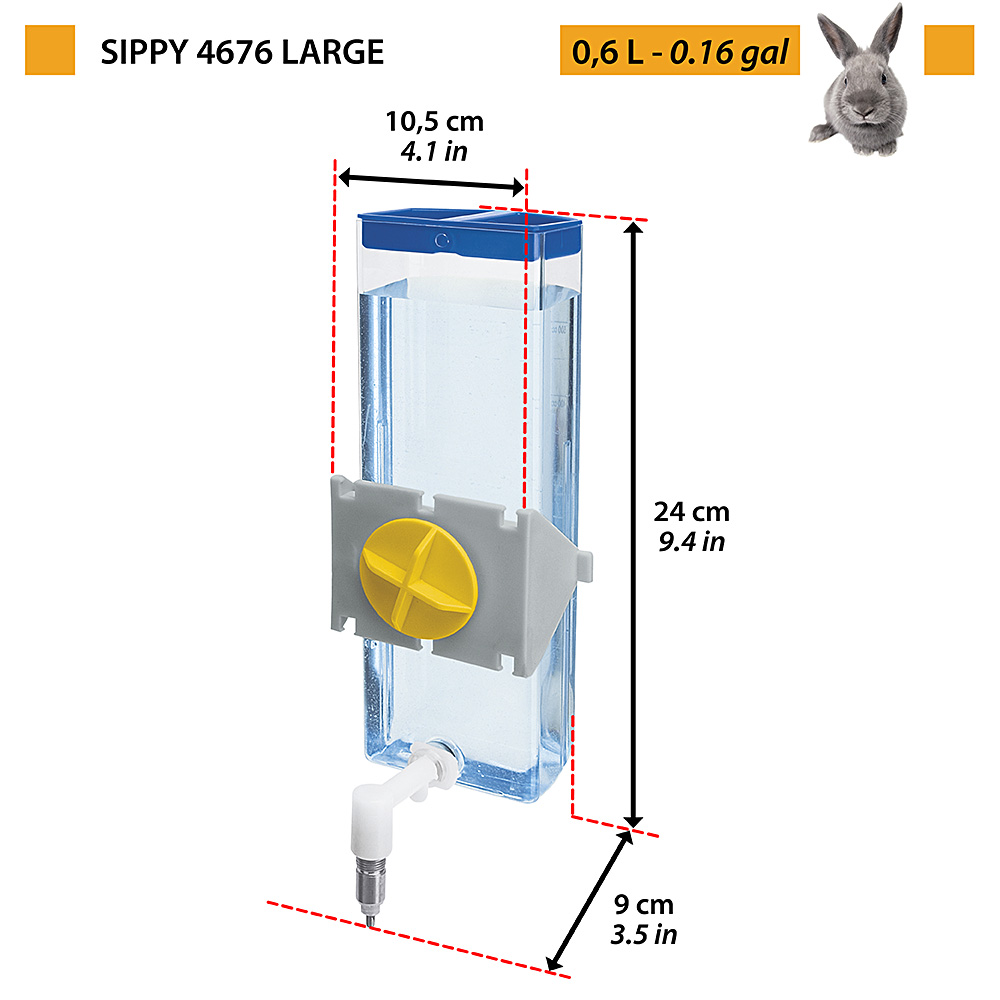 SIPPY 4676 LARGE cc.600