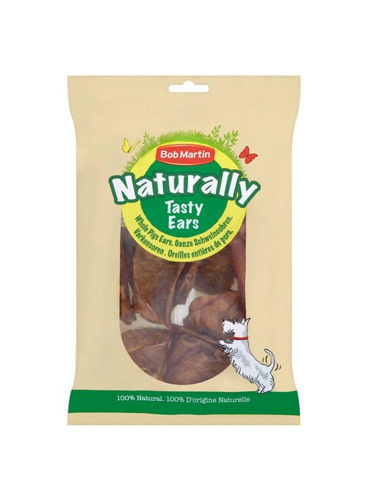 Bob Martin Naturally orecchie di maiale 4x Tasty Ears