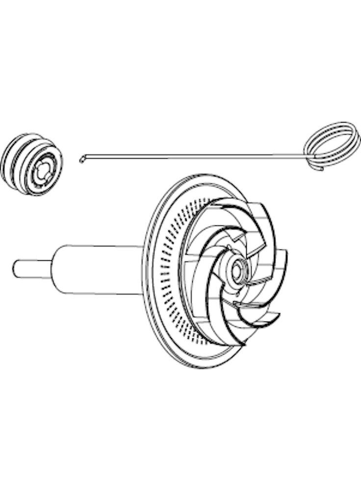 syncra-hf-10-0-rotore-con-alberino-in-ceramica-boccole-uncino
