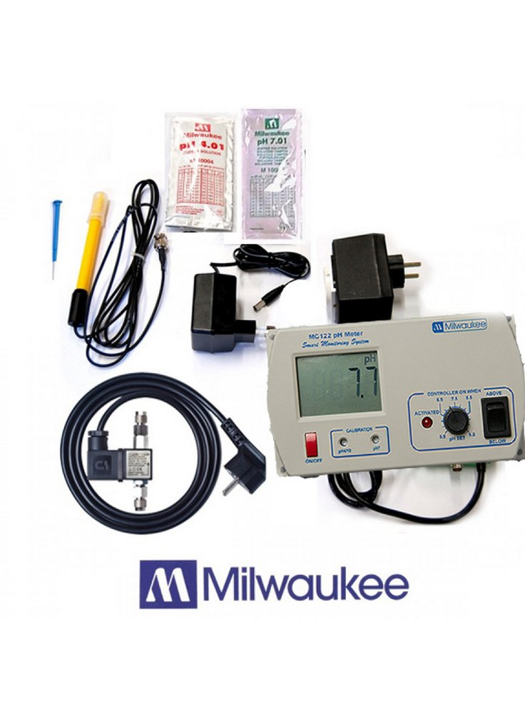 Regolatore elettronico controller ph co2 milwaukee mc 122