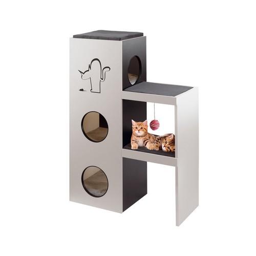 Tiragraffi a torre napoleon ferplast - Arbre a chat design pas cher ...