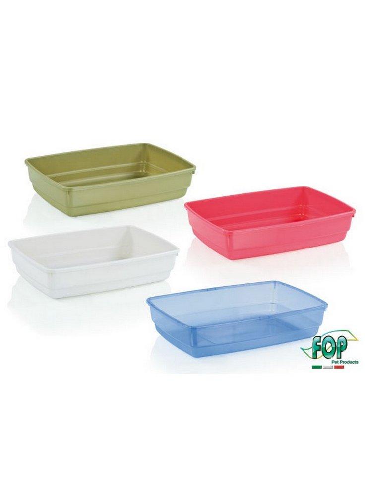 Toelette per gatti aperta w cat fop s/cornice 53x38x16h cm