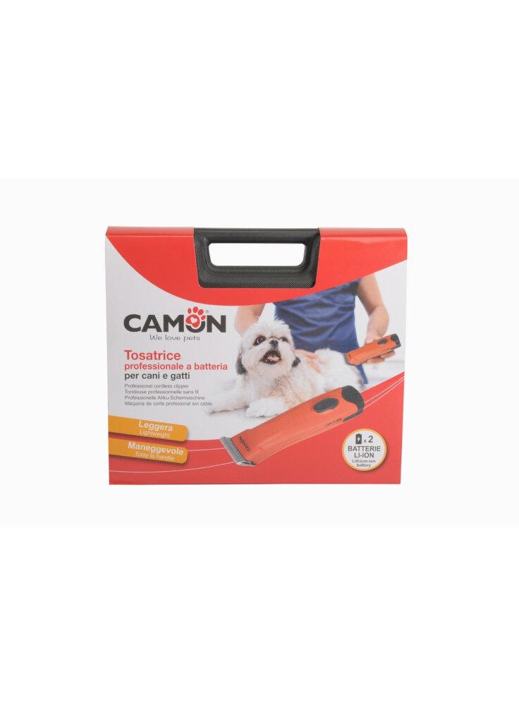 Camon Tosatrice per cani gatti doppia batteria inclusa
