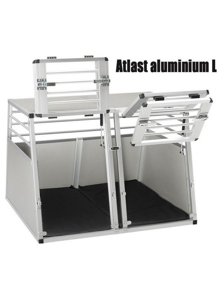 Ferplast Trasportino Da Auto In Alluminio Per Cani Atlas Aluminium