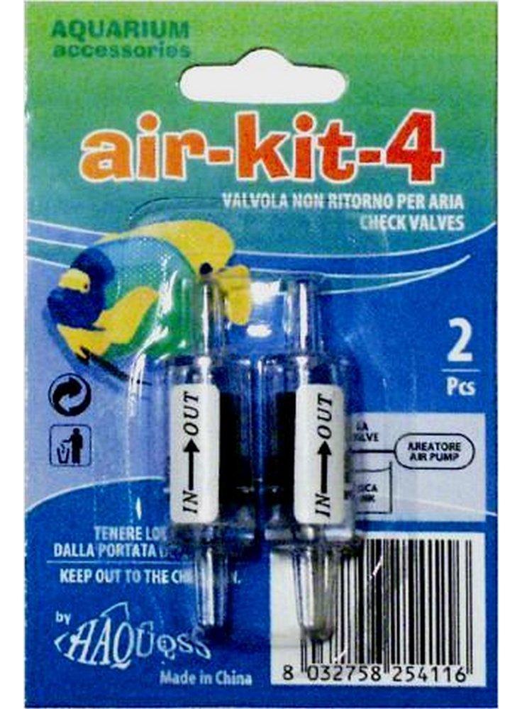 Kit aria 4 - valvola di non ritorno haquoss 2 pz