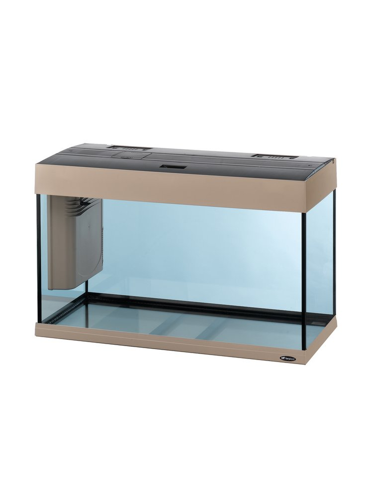 Acquario Dubai 80 led tecno gray + mobile originale + allestimento