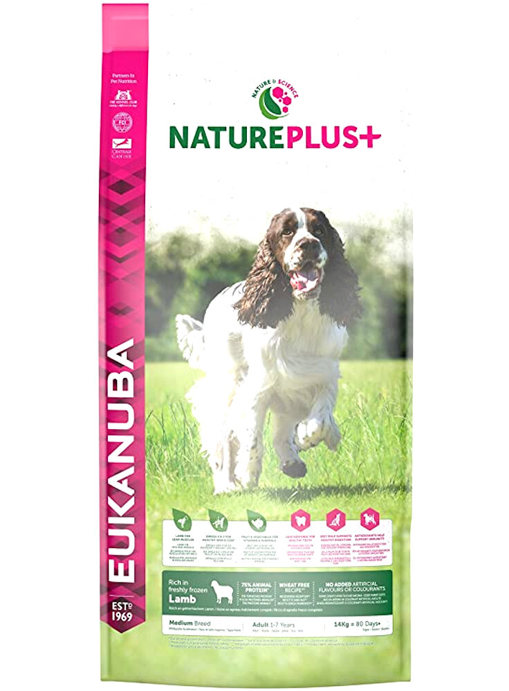 EUKANUBA DOG NATURPLUS MEDIO AGNELLO KG 2,3
