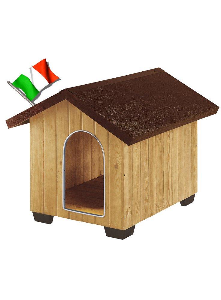 Cuccia per Cani in Legno di Pino DOMUS