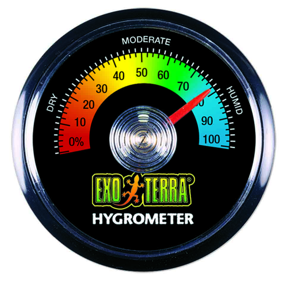 Igrometro analogico exoterra