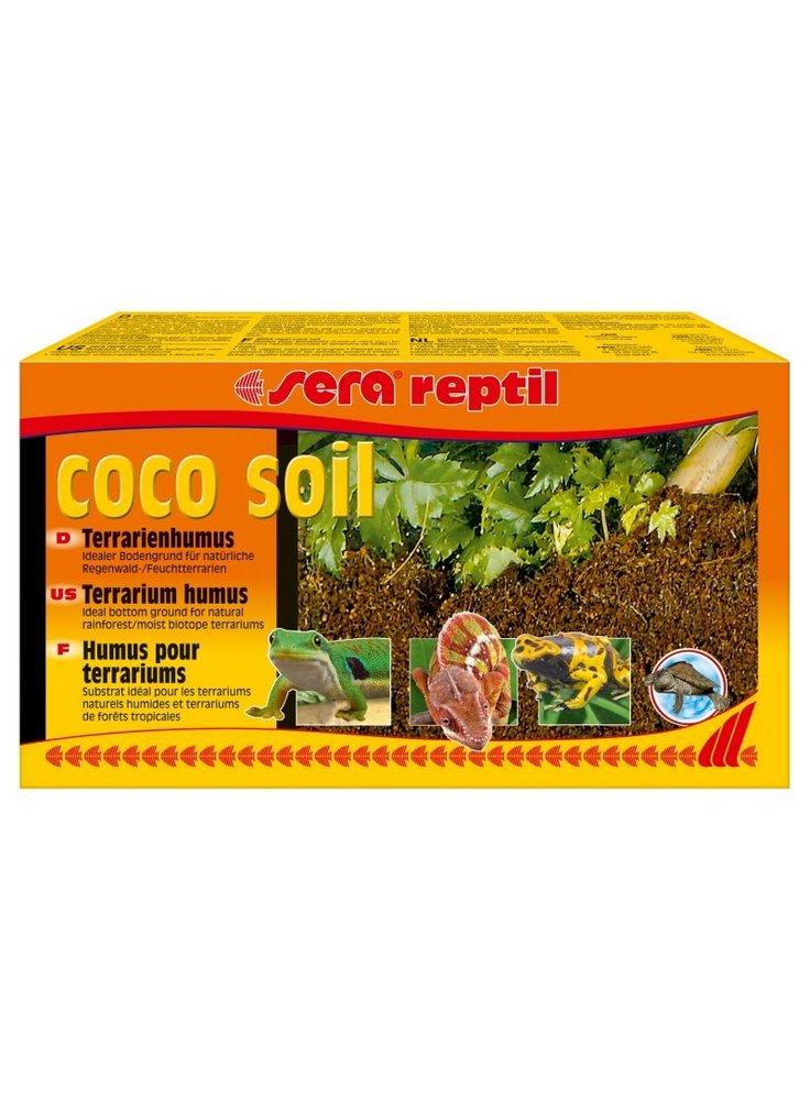 Fondo per terrario Sera Reptil coco soil