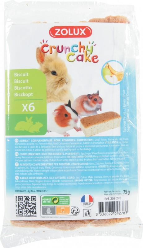 Crunchy cake timo biscotti roditori 6 biscotti
