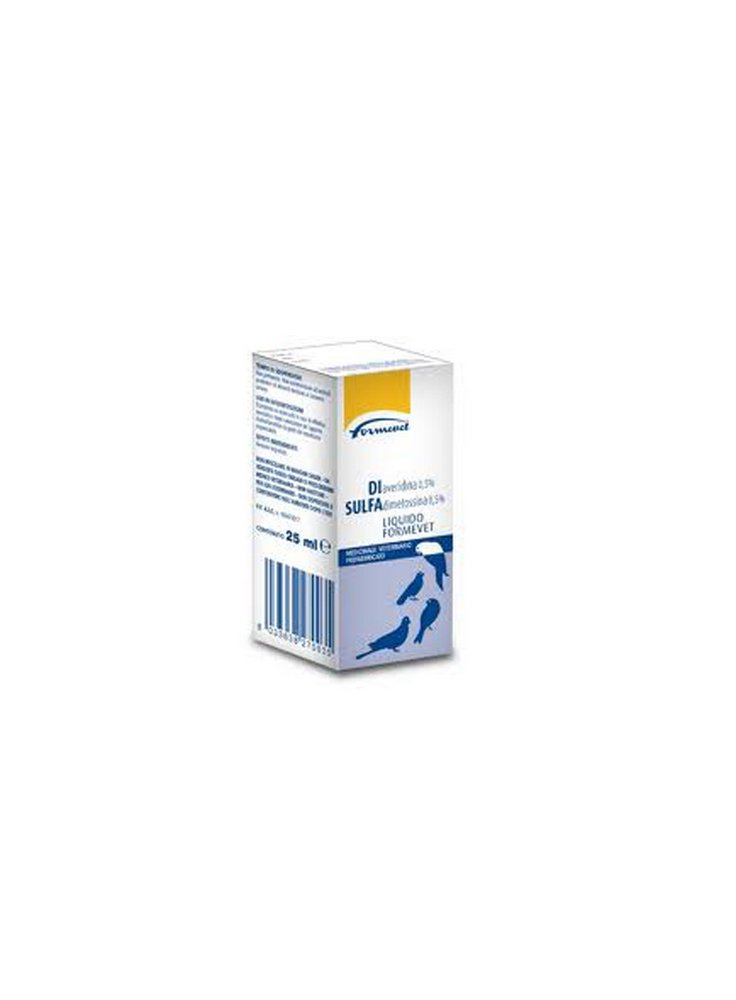 Antibiotico a largo spettro disulfa 25ml