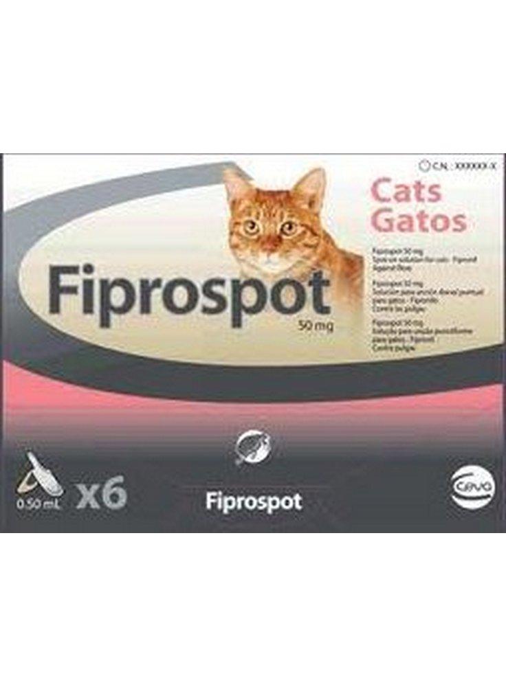 Antiparassitario FIPROSPOT per gatti 3 fiale