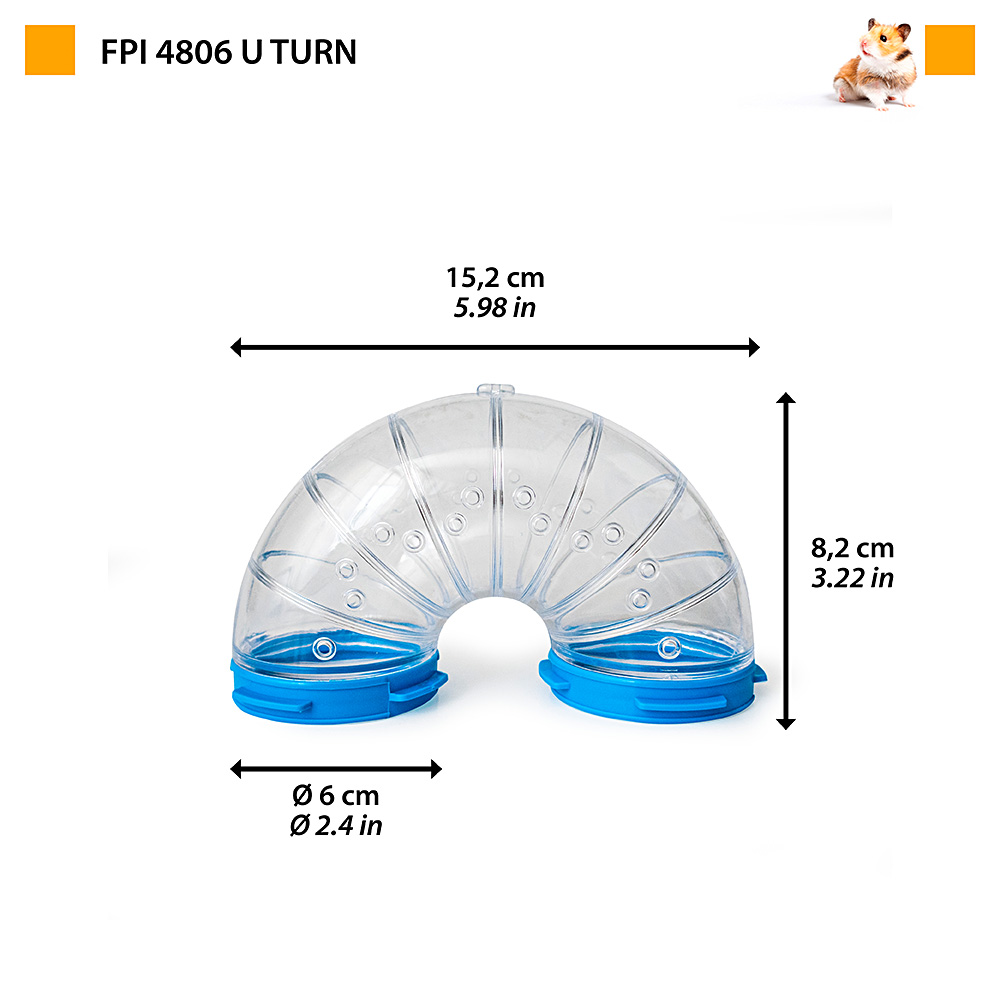 FPI 4806 TUBE LINE U TURN