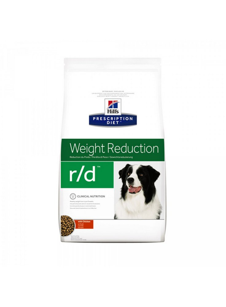 Hill's canine R/D 1,5 4 6 12KG 370gr dieta dimagrante per cani obesi