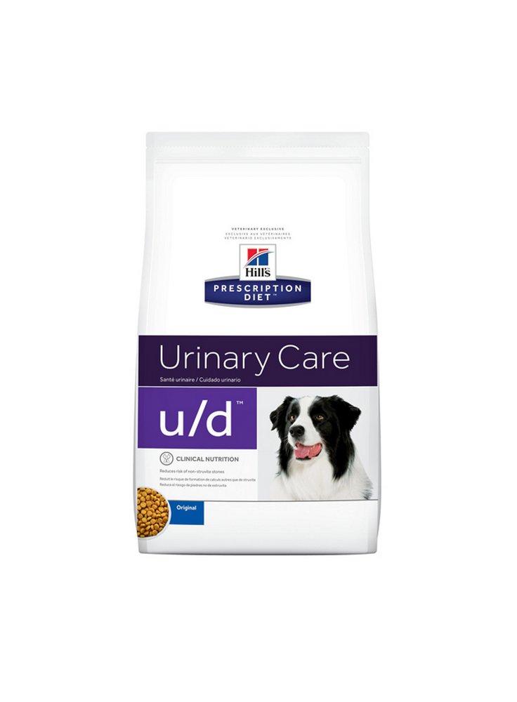Hill's canine U/D 370 gr umido 5kg crocchetta mangime per cani con insufficienza renale acuta o calcoli ossalati