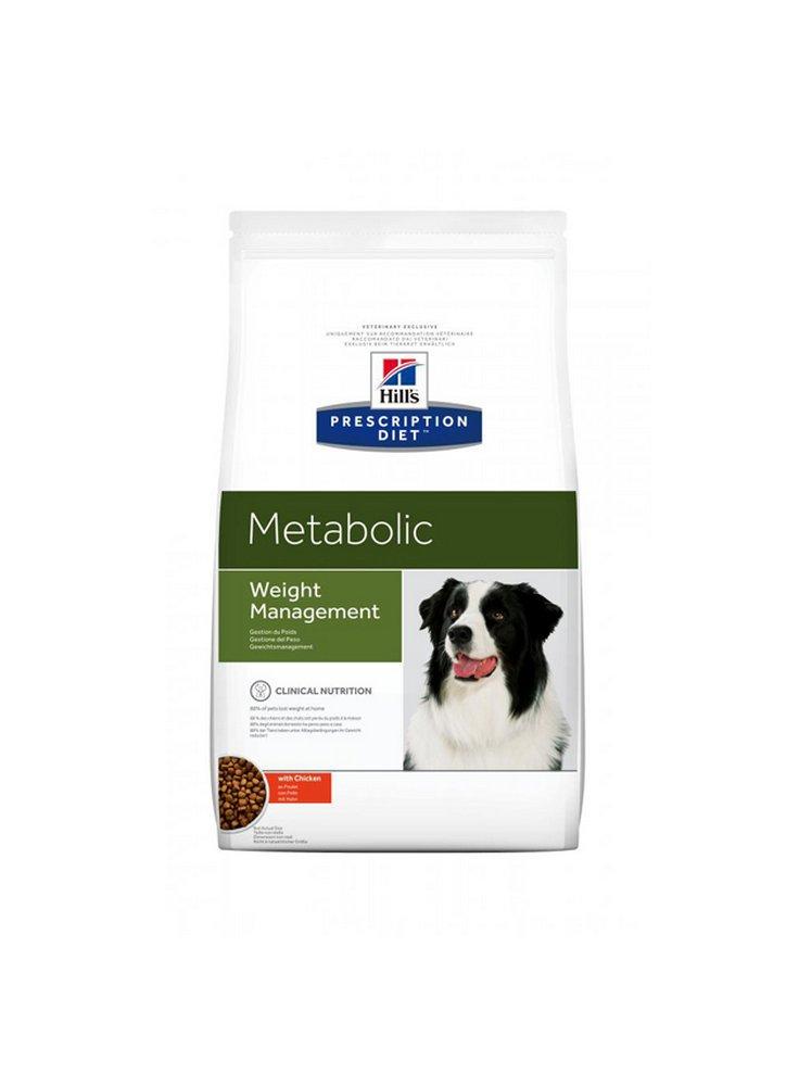 Metabolic cane dieta per il dimagrimento 1.5 4 12 Kg scatoletta 370 gr