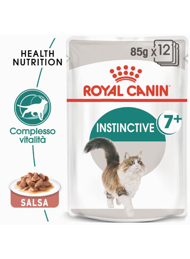 Instinctive 7+ buste gatto Royal Canin 12x85gr