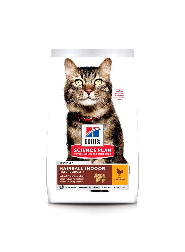 Hill's feline Hairball e indoor mature 1,5 kg