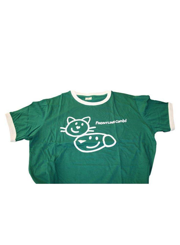 T-shirt verde Frontline Combo - omaggio con 100 euro di spesa
