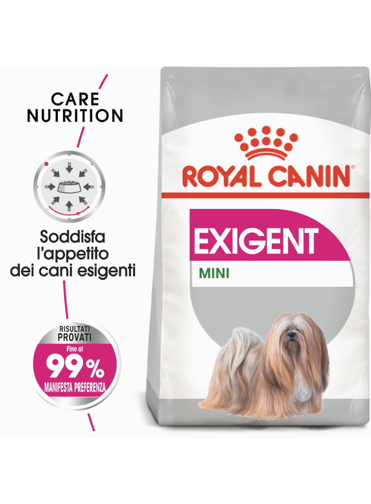 Mini Exigent cane Royal Canin