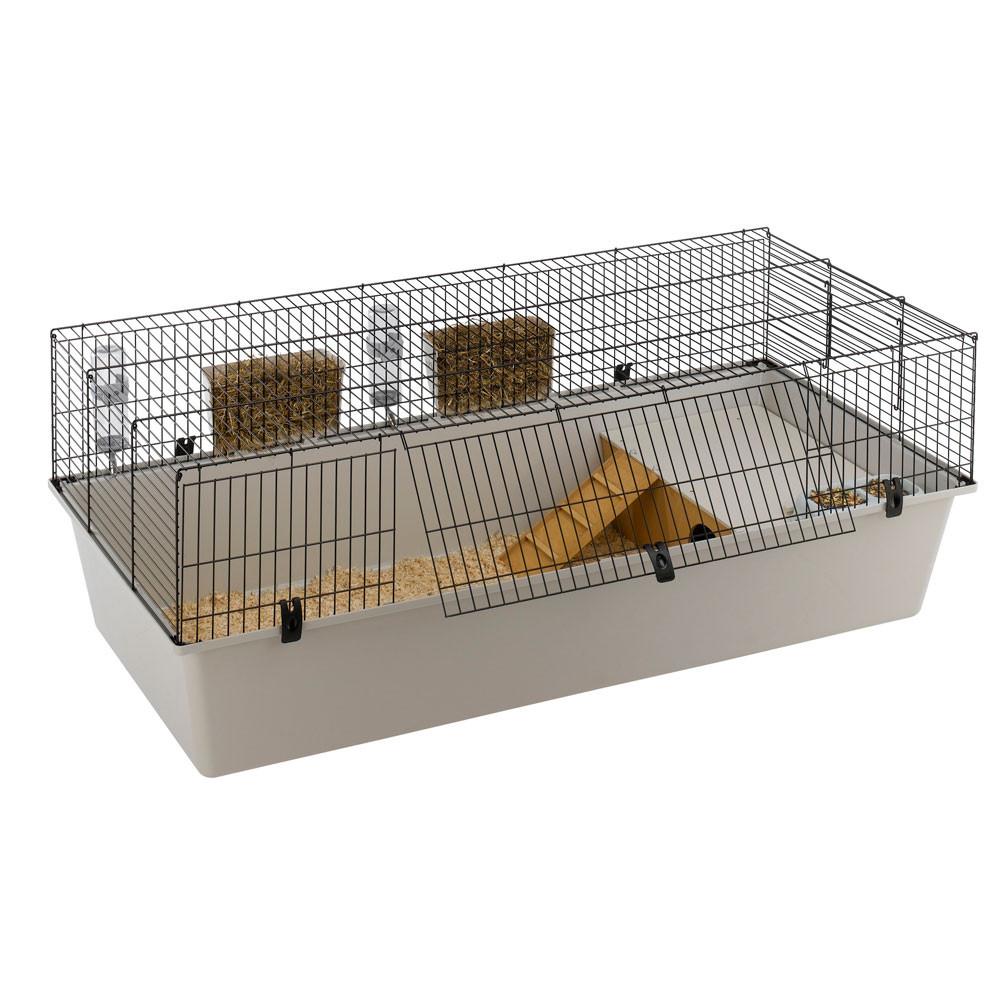 Rabbit 160 nera per conigli e cavie