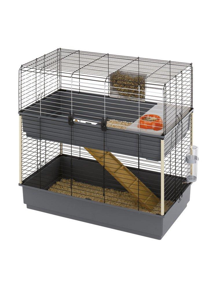 Ferplast gabbia per conigli Rabbit 100 double