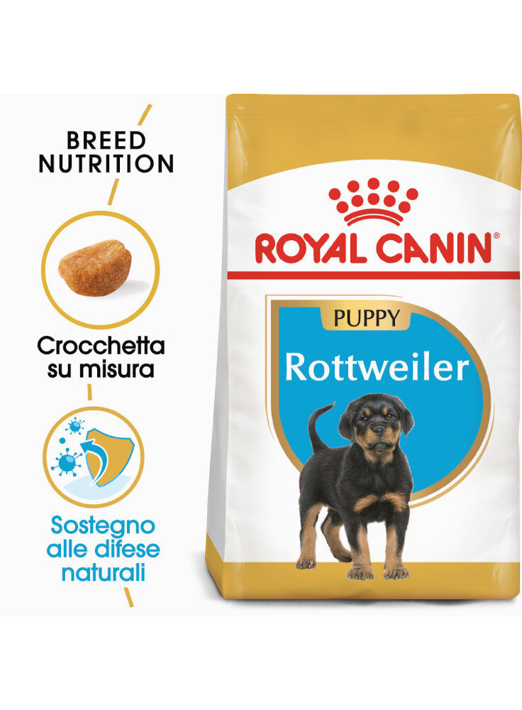 Rottweiler puppy Royal canin 12kg