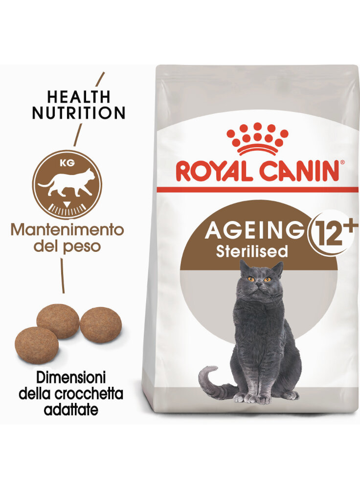 Senior Age Ageing 12+ Sterilised gatto Royal Canin