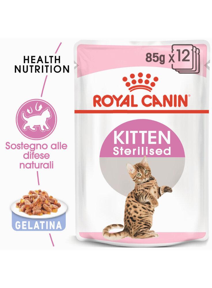 Sterilised Kitten Jelly Royal Canin 12x85 gr