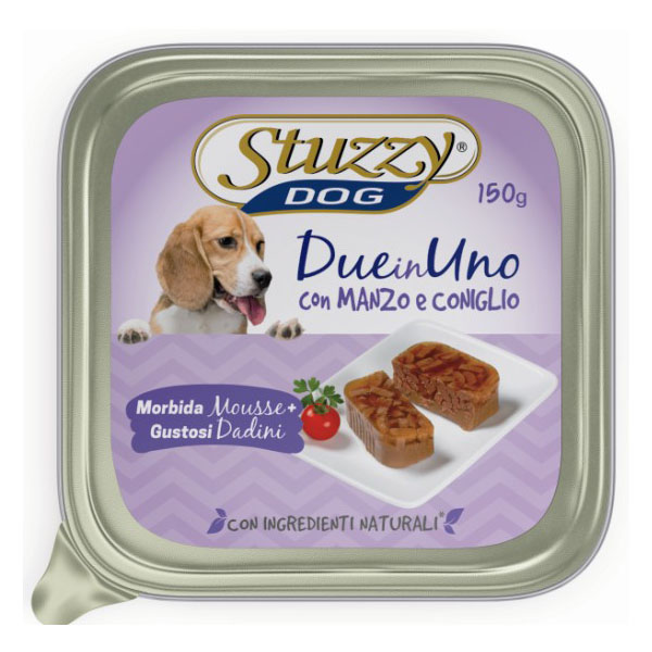 stuzzydog-duo-manzo-e-coniglio-150gr-scadenza-12-09-2021