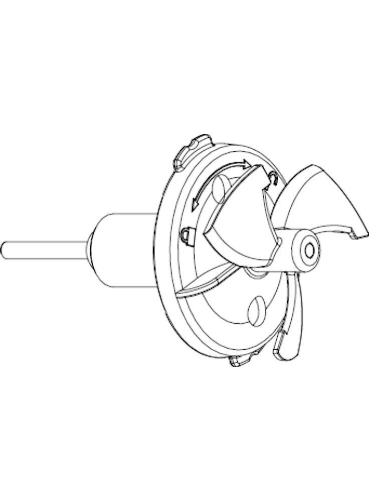 xstream-3500-rotore-con-alberino-in-acciao