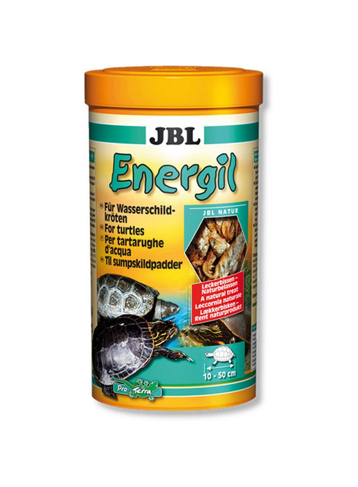 Jbl lecornia naturale per tartarughe d'acqua Energil 1 Lt