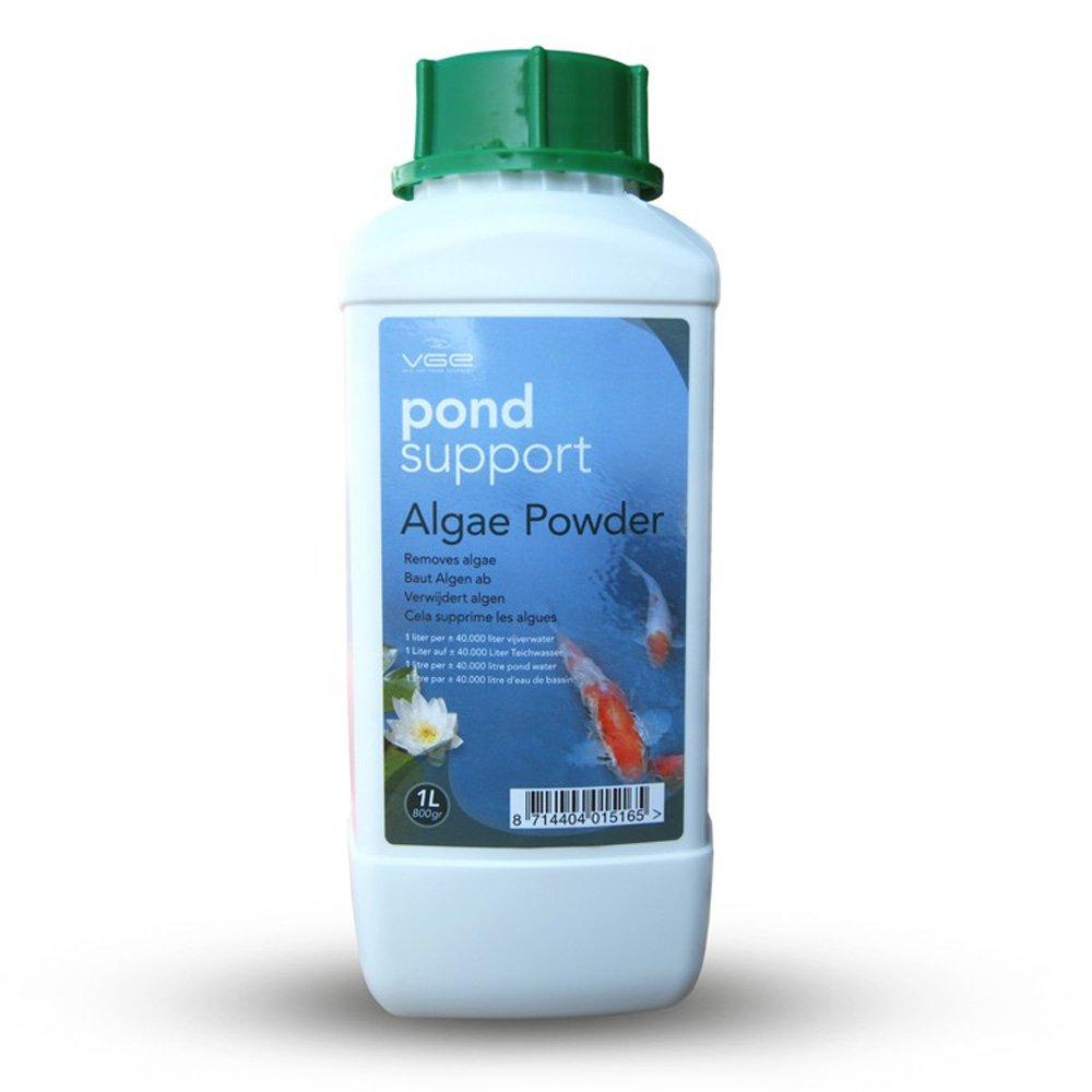 Pond support algae powder 1l 800gr petingros for Alghe filamentose laghetto